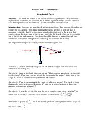Laboratory 4 - Centripetal Force