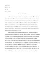 Occupational stress Essay