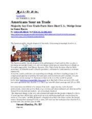 Reading 3-Americans sour on Trade-Oct 2010