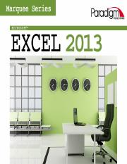 Excel - Section 2