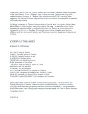 Oedipus The King Full Play .docx