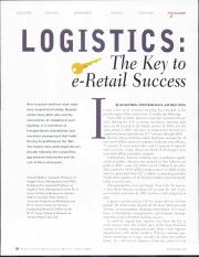 Logistics- the key to e-retail success