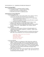 Econ Notes Ch. 15