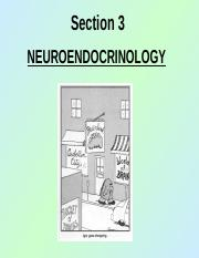 section #3 -- neuro-endocrine