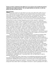 nyu essay question