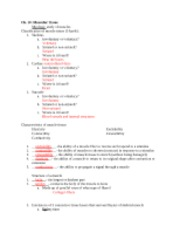 KIN 2500 Chapter 9 Worksheet - Ch 9 Joints What is an articulation ...