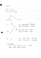 Notes 3 Test 1 Notes: Moment of a Force