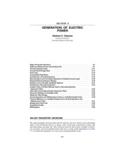 Estimating Electric Power Generation