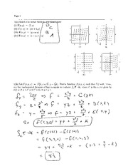 Exam 3 Solution Spring 2008 on Calculus and Analytic Geometry IV