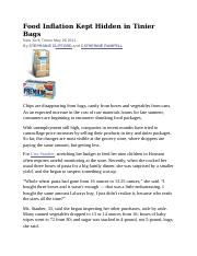 04_Food Inflation Kept Hidden in Tinier Bags NYT 20122.docx
