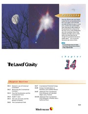 14 - The Law of Gravity