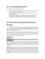 ITM 410 Week (1) Measuring Process Productivity.docx