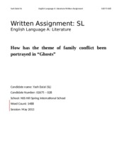 World Literature Essay - Final - Yash Dalal - Edited IB 2012 - SUBMISSION