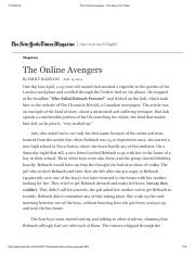 The Online Avengers - The New York Times.pdf