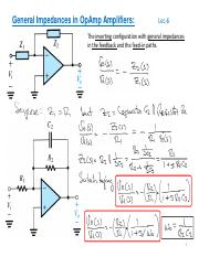 Lecture_6_Ch02_OpAmps-General_Impedances