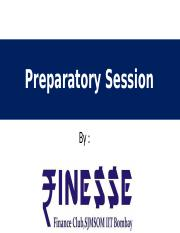 Finesse - Preparatory session 1(1).pptx