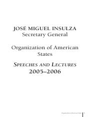 Insulza, JM OAS and The Future of the Americas 06