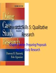 RS5 Qual Research Ch 12 Preparing Proposal for Case Study Ch 12.pptx