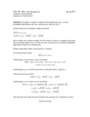 Solutions to Problem Set 1