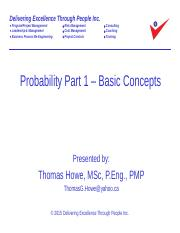 6_Probability - Part 1 Revised 2015-09-11