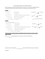 4.3 Solvign Quadr Equations by Completing the Square.docx