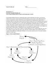 Introduction Scientifiic Method Plate tectonics C7-1.docx