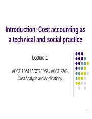1_Cost accounting as a technical and social practice(1).pptx