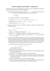 STAT 331 - Homework 1 (with coding solution)