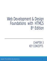Chapter7 Ppt Web Development Design Foundations With Html5 8th Edition Chapter 7 Key Concepts Copyright U00a9 Terry Felke Morris Http Terrymorris Net Course Hero,Personalized T Shirt Design