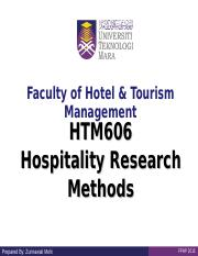HTM606_Course Overview.ppt