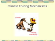 02 - Forcing mechanisms and Intro Paleoclimatology