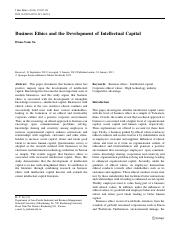 business ethics and the development of intellectual capital.pdf