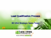 Lead Qualification Process