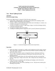 Topic 5 -- Home lighting System (II).doc