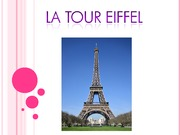 Eifeel Tower Presentation