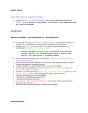 Group%2Bwork co-operative learning advantages and disadvantages.docx