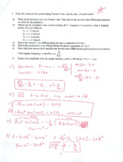 Midterm 1 Answers