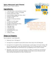 Spicy Mac and Cheese Recipe.docx