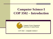 COP3502_1_Introduction