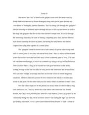 movie essay 1