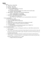 AAAS 311 Notes