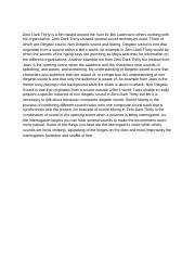 Match point film analysis essay