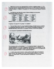 ecology review sheet with answers Valhalla High School SCIENCE Biology ...