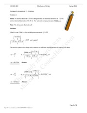 CE 3303 - HW #17 Solutions.pdf