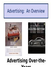 Class Notes A Advertising An Overview.ppt