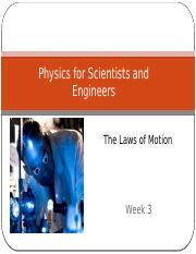 lecture_101_3week ch 4 NewtonsLaw