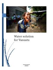 2nd submit Vanuatu water and Sanitation problems.docx