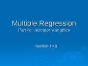 multiple regression 4 ppt