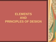 1 ELEMENTS AND PRINCIPLES INTRODUCTION