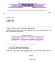 Lab 3-2 Intership Letter
